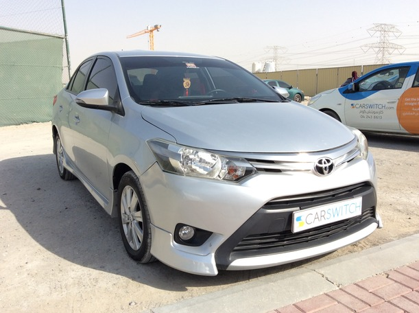 Used 2015 Toyota Yaris for sale in sharjah
