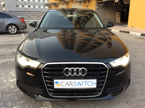 Used 2014 audi A6 for sale in dubai