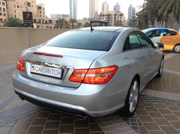 Used 2012 Mercedes E350 for sale in dubai
