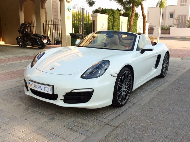Used 2016 porsche Boxster for sale in dubai