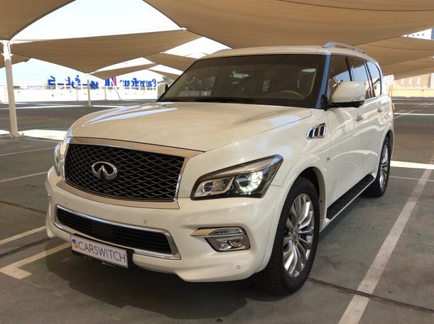Used 2015 Infiniti QX80 for sale in dubai
