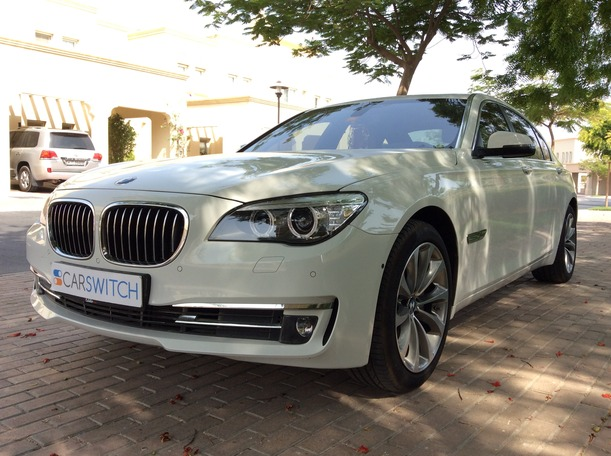 Used 2015 bmw 7 Series for sale in dubai