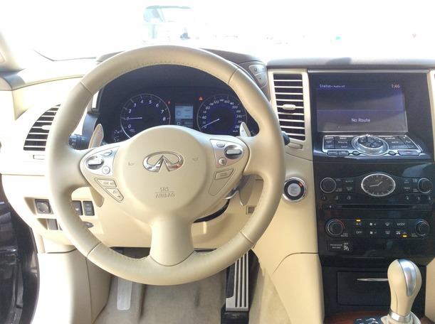 Used 2012 infiniti FX50 for sale in dubai