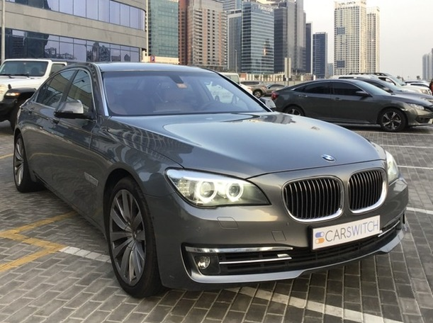 Used 2013 BMW 740 for sale in dubai