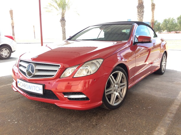 Used 2013 Mercedes E350 for sale in abudhabi