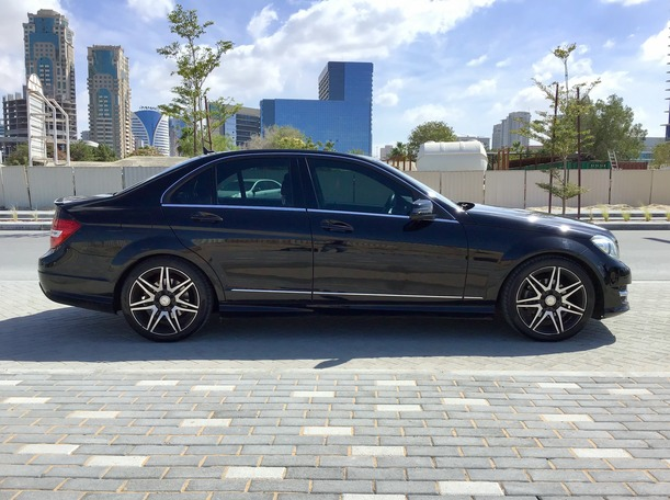 Used 2014 Mercedes C200 for sale in dubai