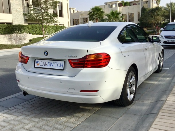 Used 2014 BMW 420 for sale in dubai