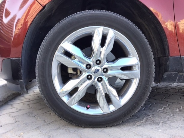 Used 2014 Ford Edge for sale in sharjah
