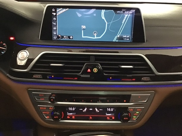 Used 2016 BMW 750 for sale in dubai