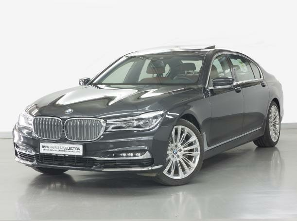 Used 2019 BMW 740 for sale in dubai
