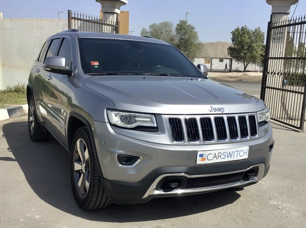 Used 2015 Jeep Grand Cherokee for sale in abudhabi