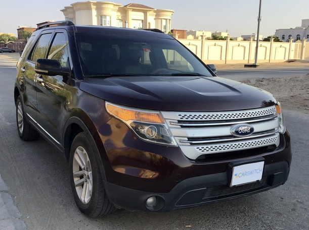 Used 2012 Ford Explorer for sale in abudhabi
