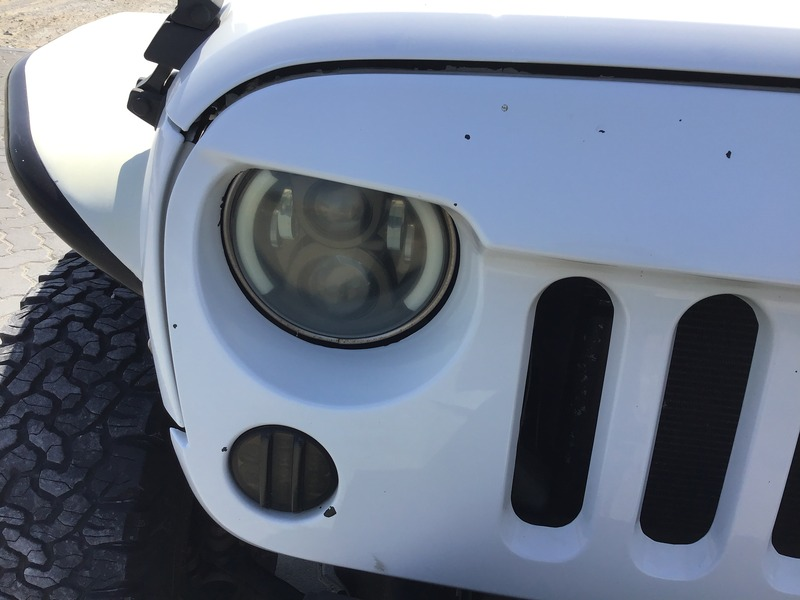 Used 2013 Jeep Wrangler for sale in sharjah