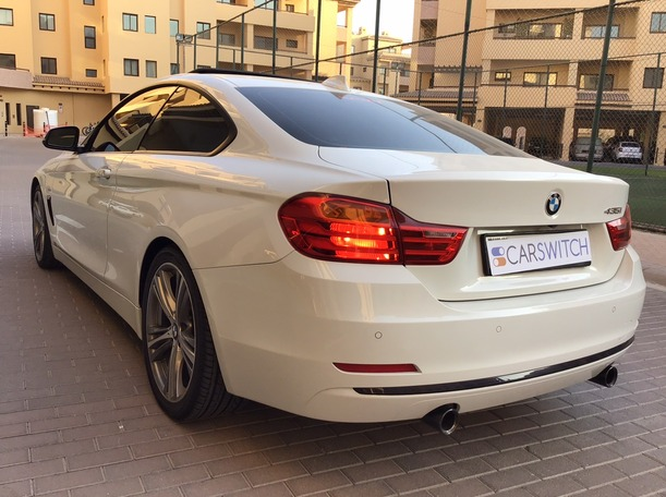 Used 2014 BMW 435 for sale in dubai