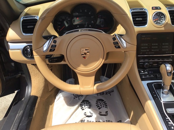 Used 2014 Porsche Boxster for sale in abudhabi
