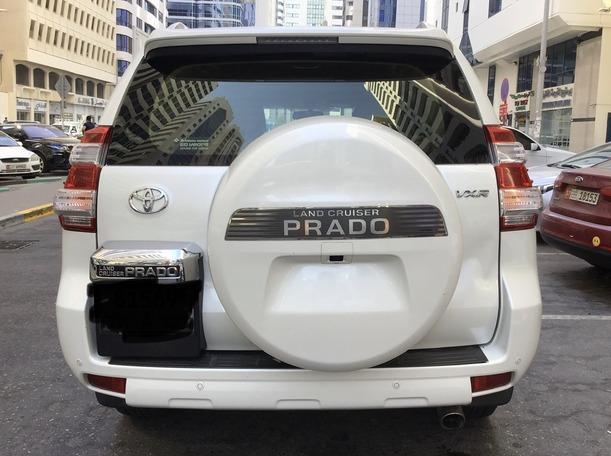 Used 2016 Toyota Prado for sale in abudhabi