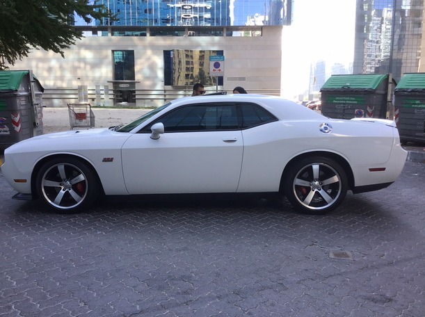Used 2013 Dodge Challenger for sale in abudhabi