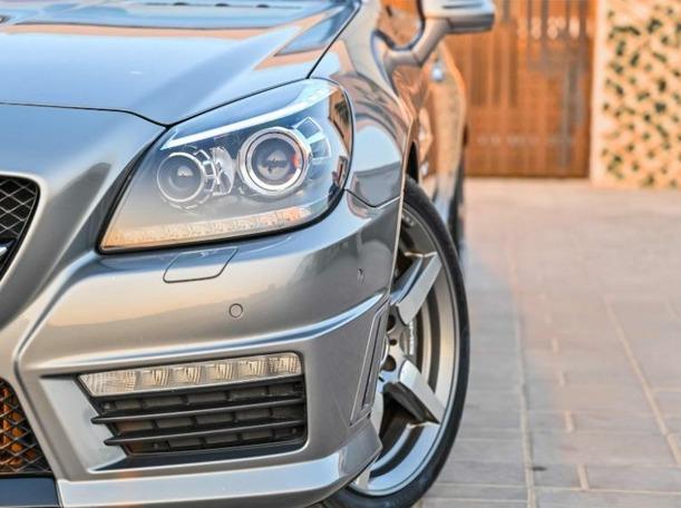 Used 2014 Mercedes SLK55 AMG for sale in dubai