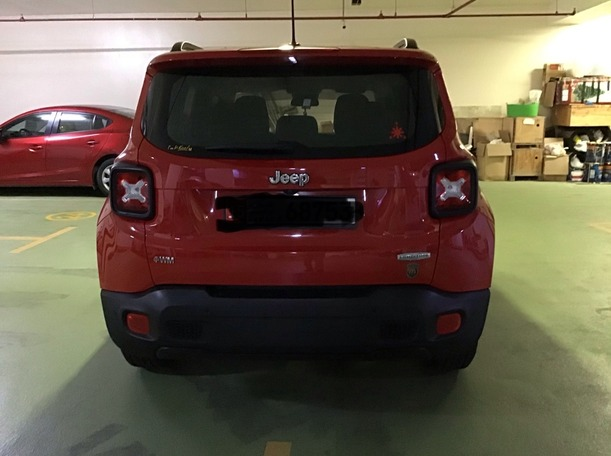 Used 2016 Jeep Renegade for sale in abudhabi