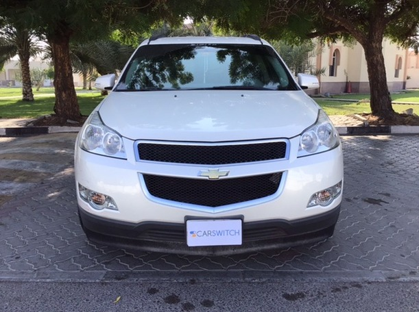 Used 2012 Chevrolet Traverse for sale in sharjah