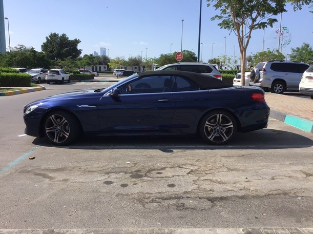 Used 2011 BMW 640 for sale in abudhabi
