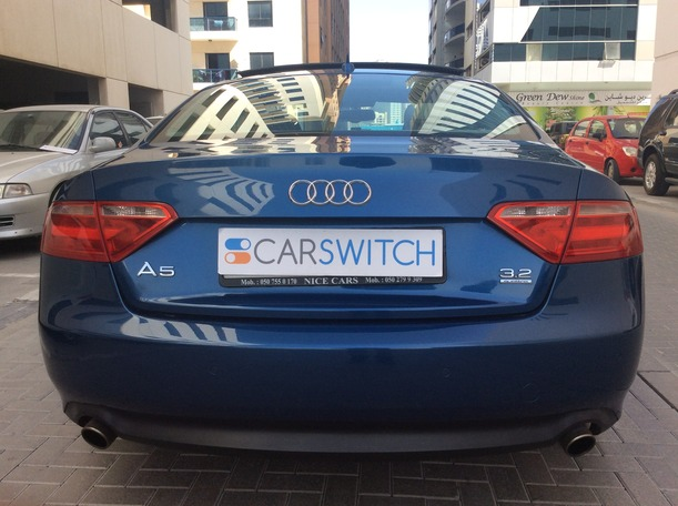 Used 2009 audi A5 for sale in dubai