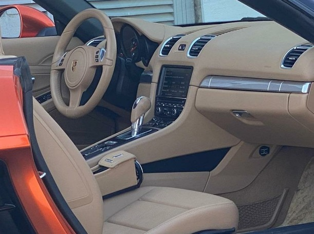 Used 2016 Porsche Boxster for sale in dubai