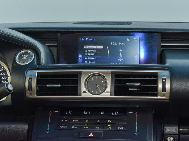 Used 2016 Lexus IS200 for sale in dubai