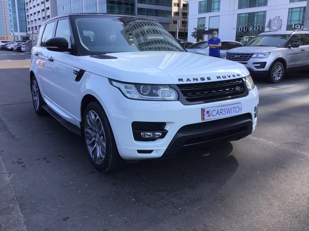 Used 2015 Range Rover Sport for sale in abudhabi