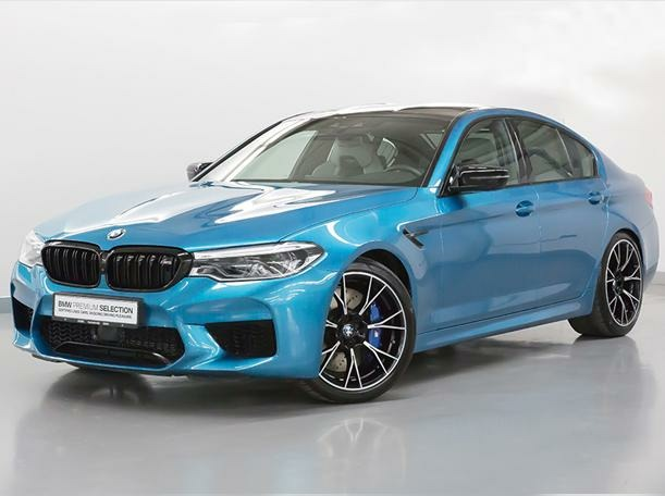 Used 2020 BMW M5 for sale in dubai