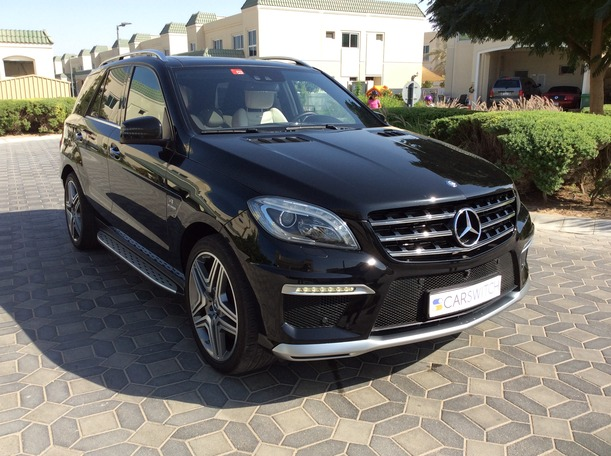 Used 2015 Mercedes ML63 AMG for sale in dubai