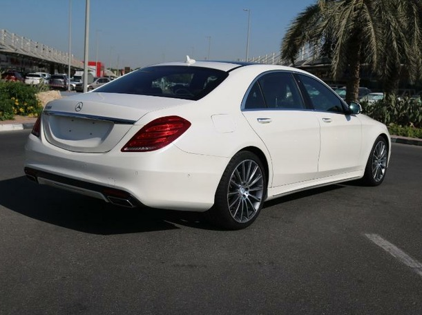 Used 2014 Mercedes S500 for sale in dubai