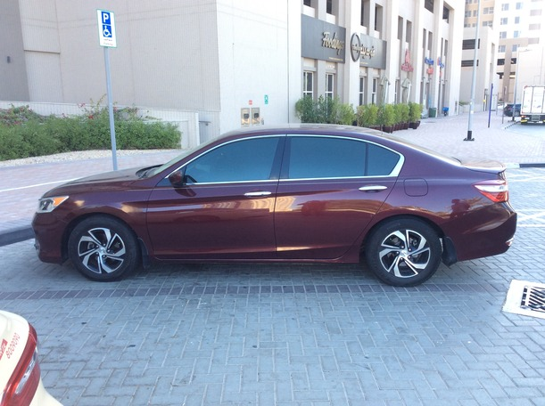 Used 2016 Honda Accord for sale in dubai