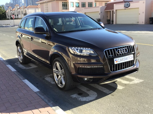 Used 2016 Audi Q7 for sale in dubai