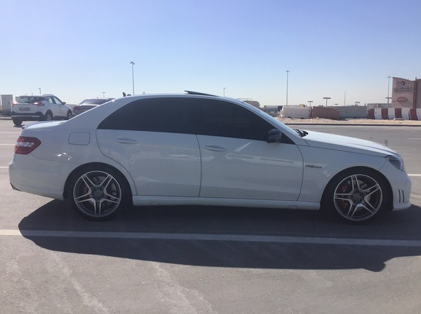 Used 2012 Mercedes E63 AMG for sale in abudhabi