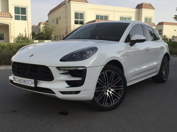 Used 2015 Porsche Macan Turbo for sale in dubai