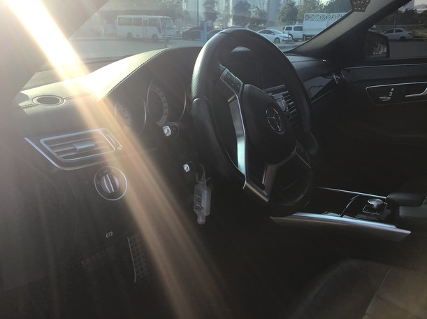 Used 2014 Mercedes E300 for sale in abudhabi