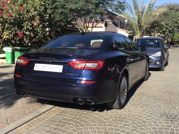 Used 2015 Maserati Quattroporte for sale in dubai