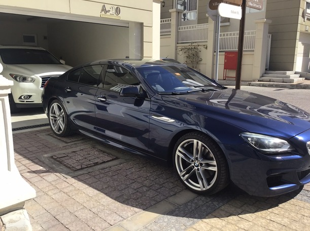 Used 2014 BMW 650 for sale in abudhabi