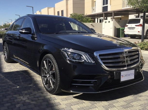 Used 2018 Mercedes S560 for sale in sharjah