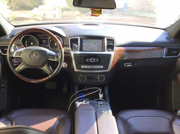 Used 2014 Mercedes ML350 for sale in sharjah
