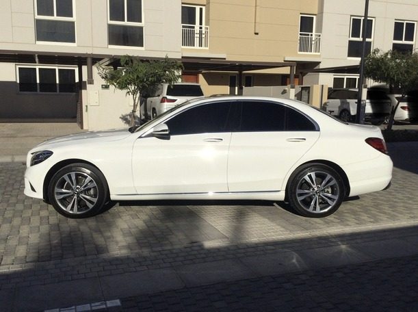 Used 2020 Mercedes C300 for sale in sharjah