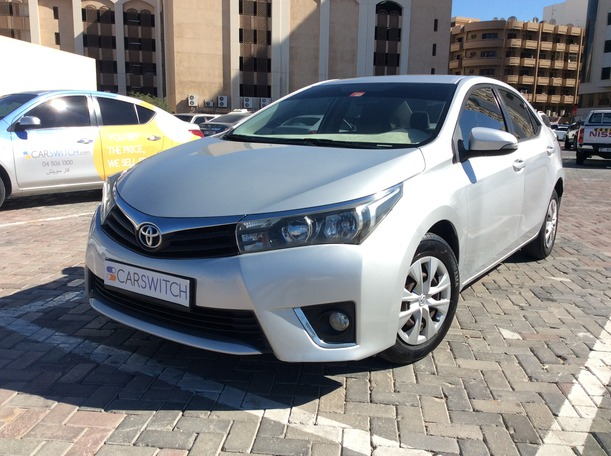 Used 2014 Toyota Corolla for sale in dubai