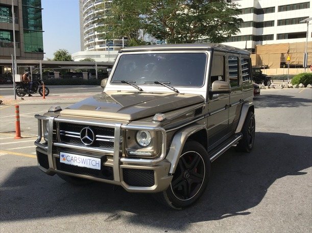 Used 2015 Mercedes G63 AMG for sale in sharjah