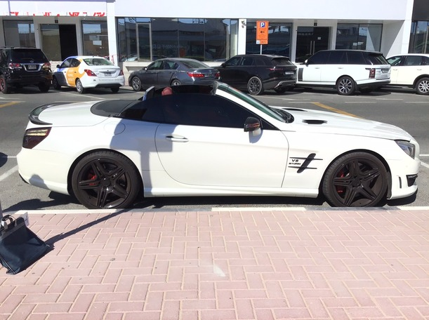 Used 2013 Mercedes SL63 AMG for sale in dubai
