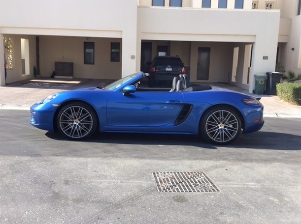 Used 2017 Porsche 718 Boxster for sale in dubai