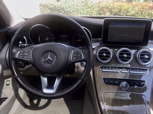 Used 2015 Mercedes C200 for sale in dubai