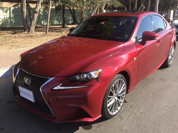 Used 2015 Lexus IS250 for sale in abudhabi