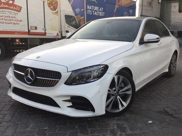 Used 2018 Mercedes C300 for sale in sharjah