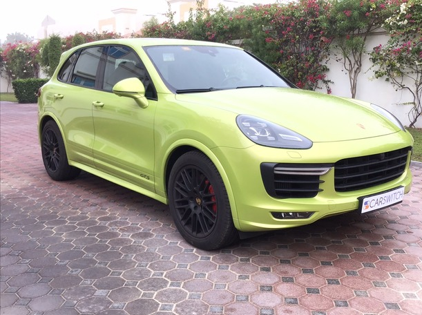 Used 2016 Porsche Cayenne GTS for sale in dubai